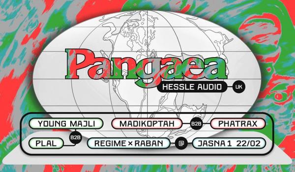 Going. | Regime x Raban pres. Pangaea (Hessle Audio/UK) - Jasna 1