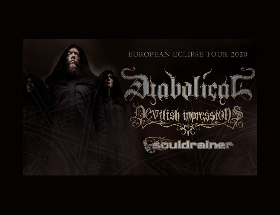 Diabolical (Swe), Devilish Impressions (Pl), Souldrainer (Swe) - Bydgoszcz