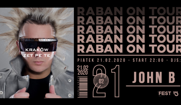 Going. | Raban On Tour: John B w Krakowie! - Zet Pe Te