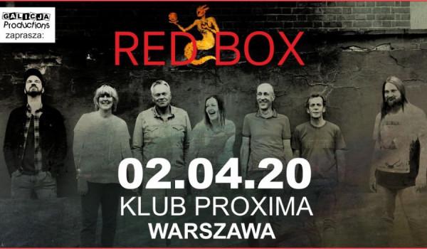 Going. | RED BOX | Warszawa - Proxima