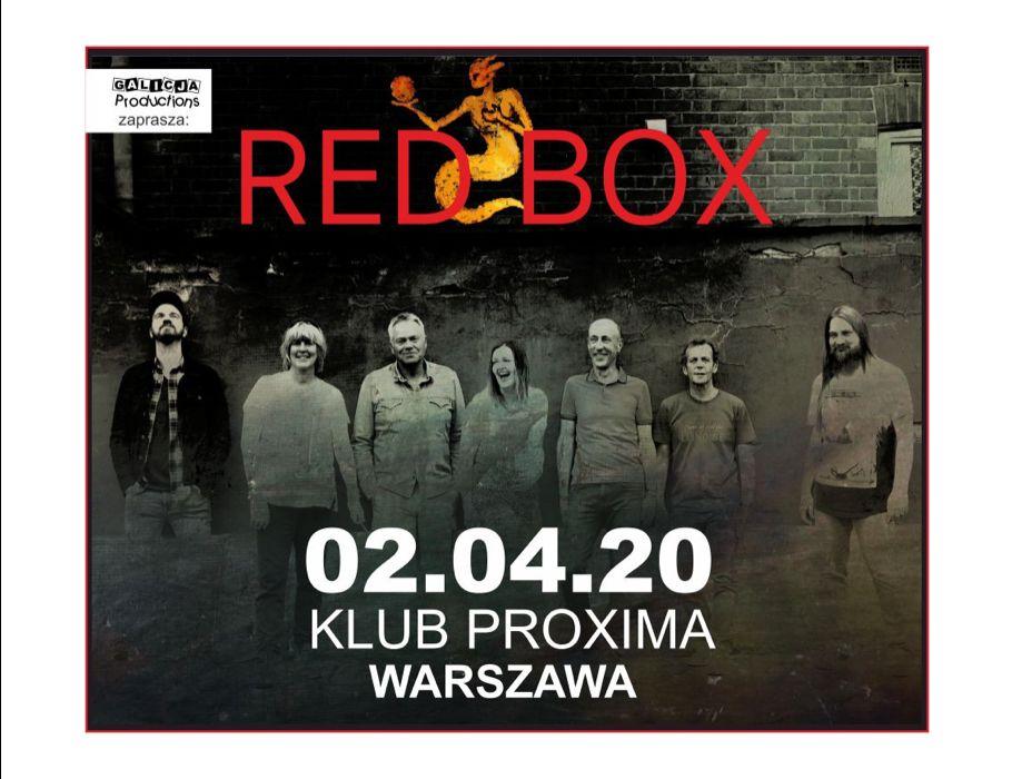 RED BOX | Warszawa [ODWOŁANE]