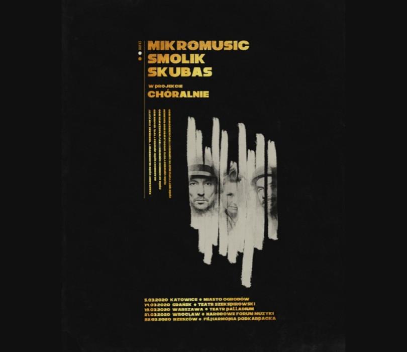 Chóralnie: Mikromusic, Smolik, Skubas, Akademicki Chór Uniwersytetu Gdańskiego [ZMIANA DATY]