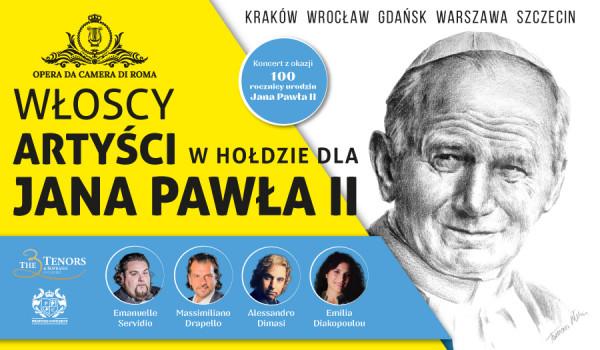 Going.   Włoscy artyści w hołdzie dla Jana Pawła II [ZMIANA DATY] - Kościół św. Katarzyny w Gdańsku