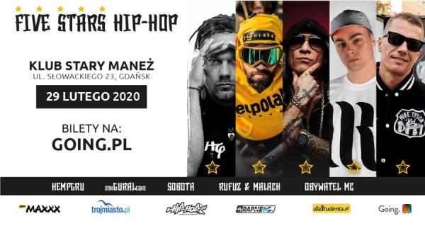 Going. | Five Stars HIP-HOP Gdańsk 2020 - Stary Maneż