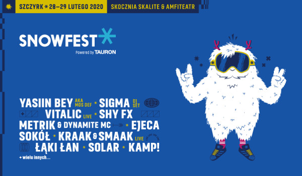 Going. | SnowFest Powered By Tauron 2020 - Amfiteatr i Skocznia Skalite