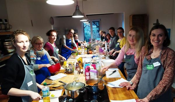 Going. | Wegańskie, szybkie dania obiadowe - Go Cook (Akademia Kulinarna)
