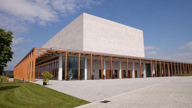 Sala koncertowa Europejskiego Centrum Muzyki Krzysztofa Pendereckiego