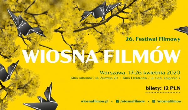 Going. | 26. Festiwal Filmowy Wiosna Filmów - Kino Elektronik