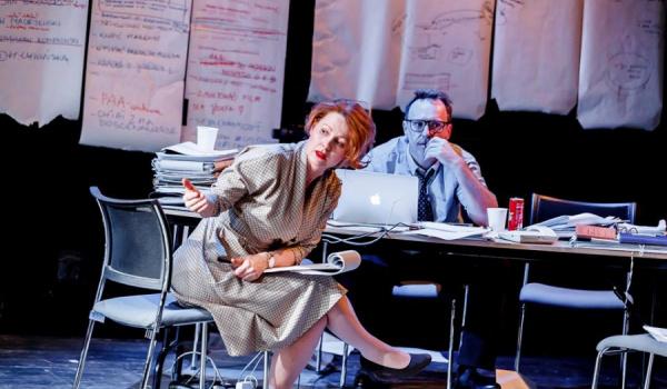 Going. | Sprawiedliwość - Teatr Powszechny