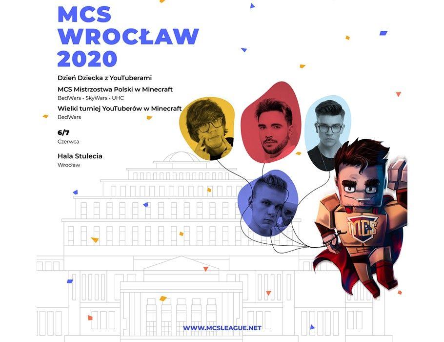 BILET VIP | MCS Wrocław 2020 Turniej Minecraft [ZMIANA DATY]