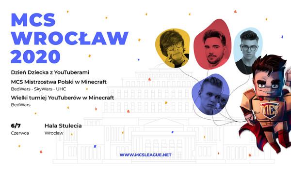 BILET PREMIUM | MCS Wrocław 2020 Turniej Minecraft [ZMIANA DATY]