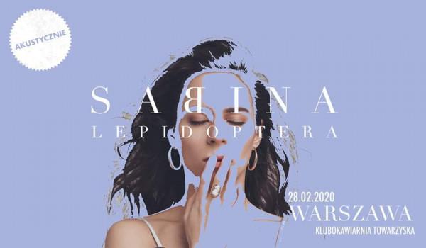 Going. | SABINA | akustycznie| koncert - Klubokawiarnia Towarzyska