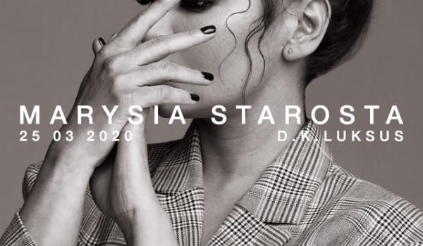 Going. | Marysia Starosta | Wrocław [ZMIANA DATY] - D.K. Luksus