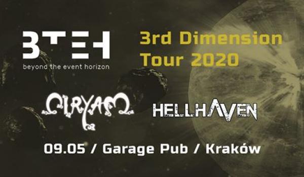 Going.   Beyond The Event Horizon, HellHaven   Kraków - Polskie Towarzystwo Gimnastyczne Sokół