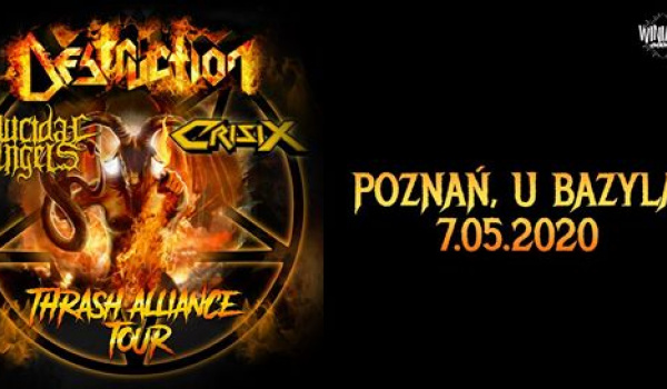 Going. | Destruction + Suicidal Angels | Poznań - Klub u Bazyla