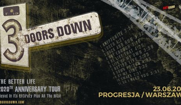 Going.   3 Doors Down   Warszawa - Progresja
