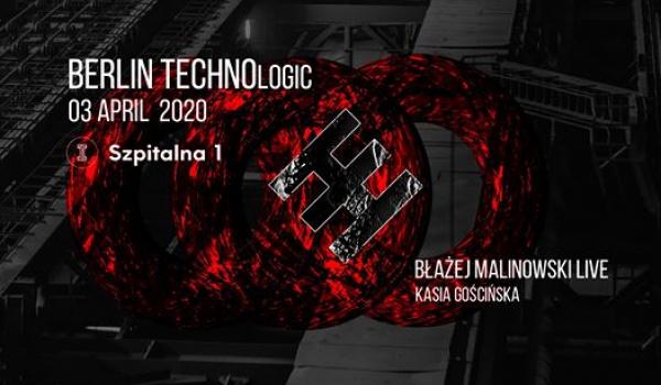 Going. | BERLIN TECHNOlogic #3: Błażej Malinowski LIVE & Kasia Gościńska - Szpitalna 1