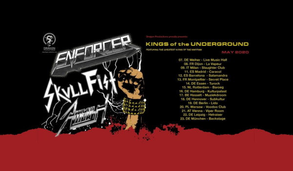 Going. | Enforcer / Skull Fist / Ambush / Warszawa / VooDoo - Voodoo Club