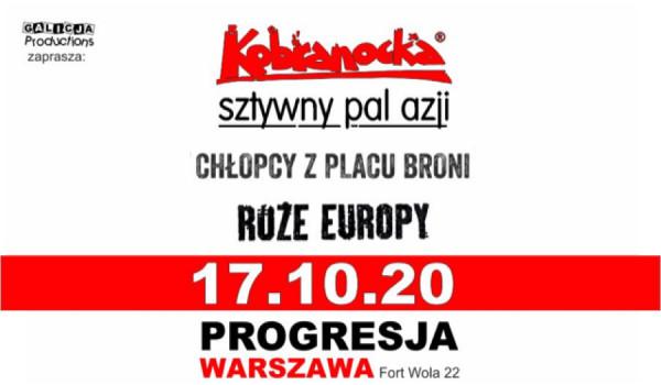 Kobranocka, Sztywny Pal Azji, Chłopcy Z Placu Broni i Róże Europy.  | Warszawa