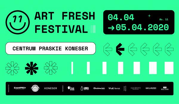 Going.   11 Art Fresh Festival - Centrum Praskie Koneser