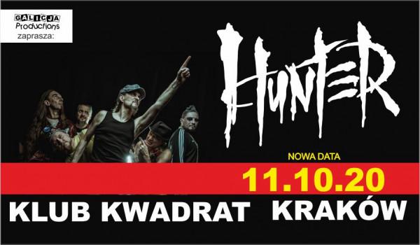 Going. | Hunter | Kraków [ZMIANA DATY] - Klub Kwadrat