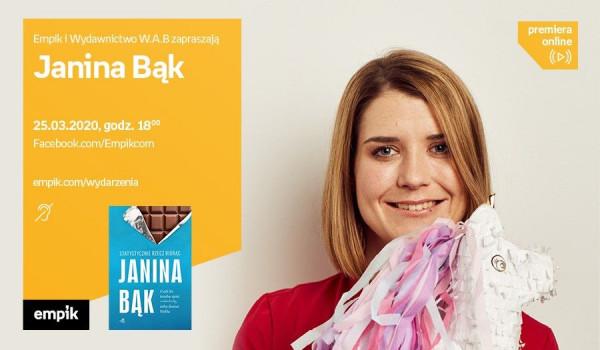 Going. | Janina Bąk – PREMIERA ONLINE - Facebook.com/Empikcom