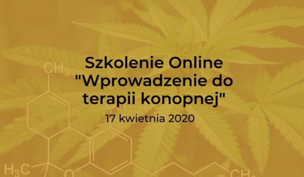 """Going.   Szkolenie Online """"Wprowadzenie do terapii konopnej"""" - online"""