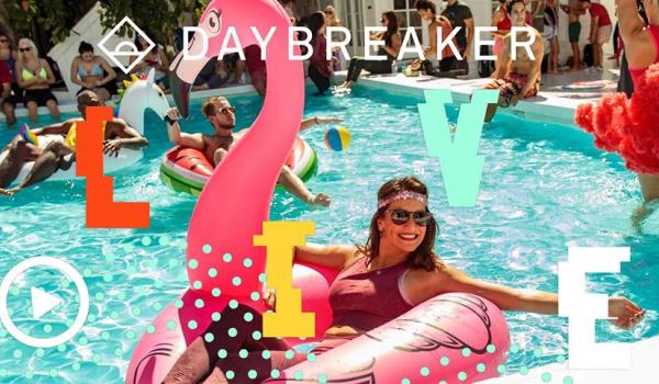 Going. | Daybreaker LIVE // Spring Break House Party - Online