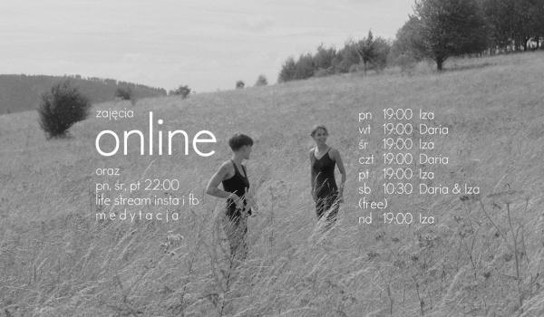 Going. | Joga w czasach zarazy – regularne zajęcia online - Online