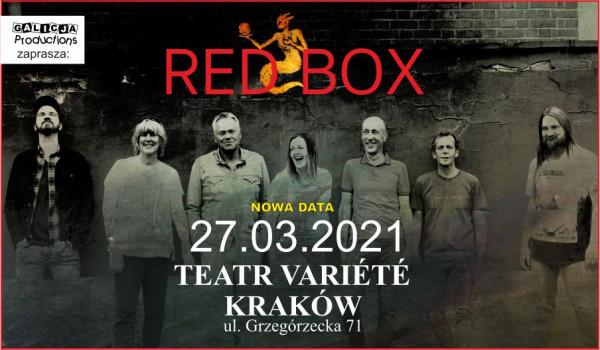 Going. | RED BOX | Kraków [ZMIANA DATY] - Krakowski Teatr VARIETE