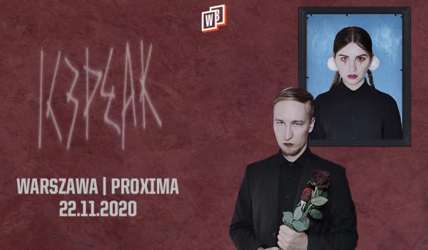 Going. | IC3PEAK | Warszawa [ZMIANA DATY] - Proxima