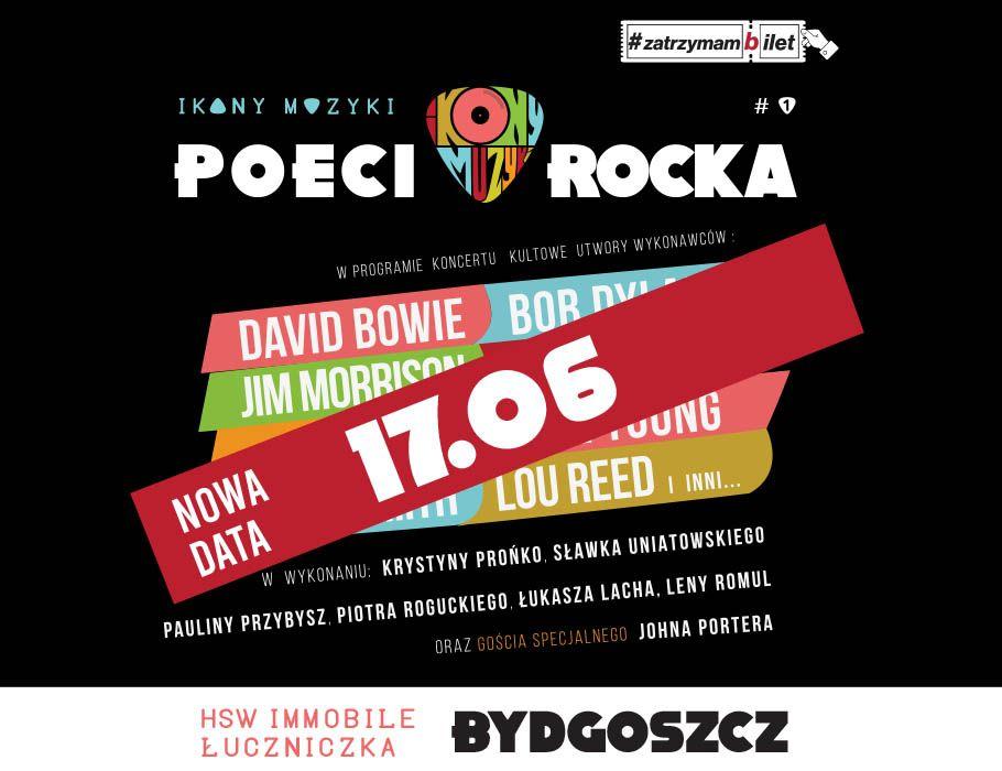 Ikony Muzyki – Poeci Rocka   Bydgoszcz [NOWA DATA]