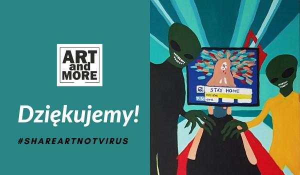 Going.   Art & More - #BiletWsparcia - Bilet Wsparcia