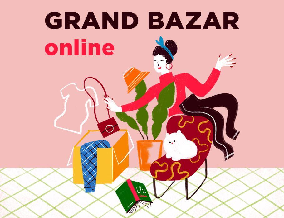 Grand Bazar Online - Wspieraj polskie marki - #BiletWsparcia