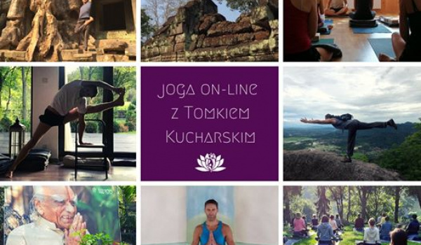 Going. | Yoga on-line z Tomkiem Kucharskim - Online | Yogaguide Tomek Kucharski