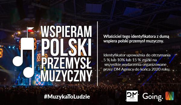 Going.   DM Agency #MuzykaToLudzie #BiletWsparcia - Online
