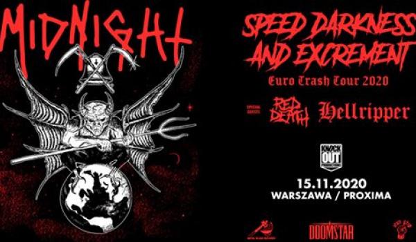 Going. | Midnight + Hellripper | Warszawa - Proxima