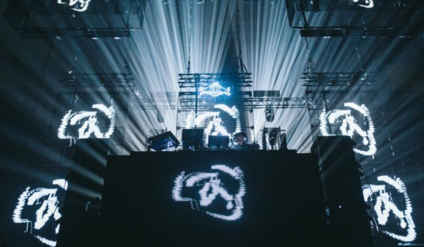 Going. | Aphex Twin Warehouse Project live show - Online