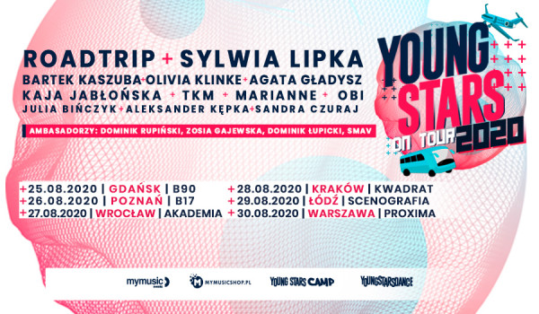 Going. | Young Stars On Tour 2020 | Warszawa [ZMIANA DATY] - Proxima