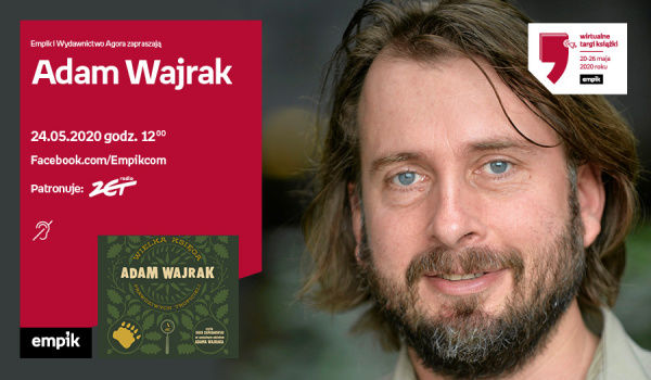 Going. | Adam Wajrak – Premiera | Wirtualne Targi Książki - Facebook.com/Empikcom