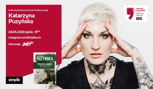 Going. | Katarzyna Puzyńska – Spotkanie | Wirtualne Targi Książki - Instagram.com/Empikcom