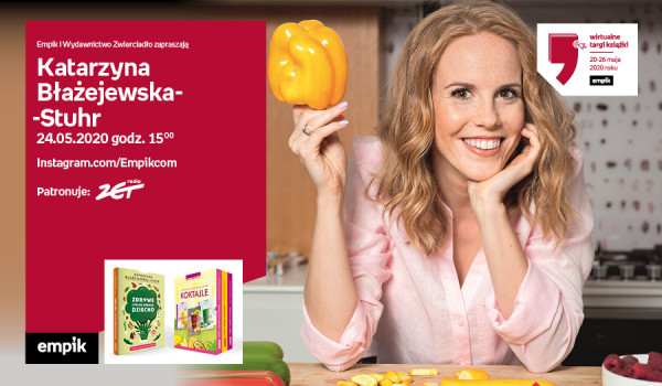 K. Błażejewska-Stuhr – Live cooking | Wirtualne Targi Książki