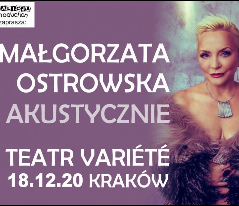 Małgorzata Ostrowska - Akustycznie [ODWOŁANE]
