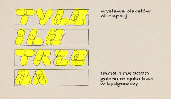 Going.   Ola Niepsuj - Tyle ile trzeba - Galeria Miejska BWA w Bydgoszczy