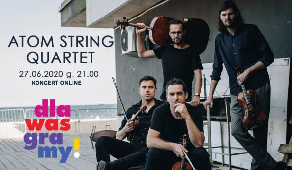 Atom String Quartet live stream