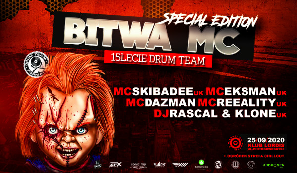 Going. | Bitwa Mc - 15lecie Drum Team/Rascal&Klone/Mc Skibadee/Eksman/Dazman [ZMIANA DATY] - Lordi's club & FOO FOO bar