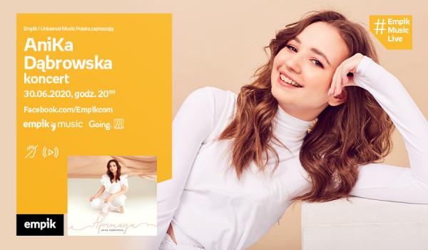 Going. | AniKa Dąbrowska | #EmpikMusicLive - koncert - Facebook.com/Empikcom