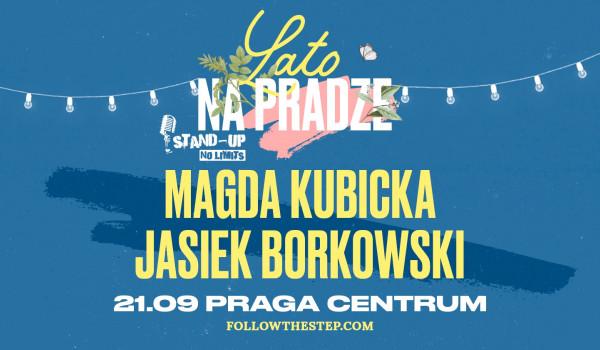 Going. | Stand-up na Pradze: Magda Kubicka, Jasiek Borkowski - Praga Centrum