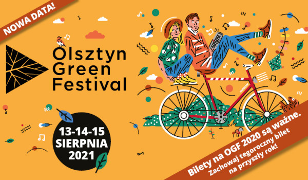 Going. | Olsztyn Green Festival [ZMIANA DATY] - CRS Ukiel