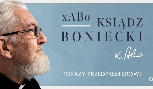 Going. | XABO: Ksiądz Boniecki. Pokaz przedpremierowy - Kino Agrafka